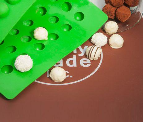 Small Round Chocolate Truffle Molds